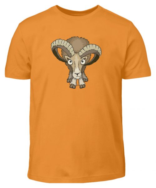 Bockiges Mufflon Widder Schafbock - Kinder T-Shirt-20