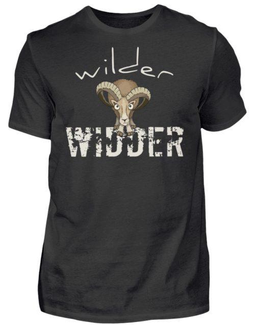 Wilder Widder | Mufflon Cooles Wild-Schaf - Herren Shirt-16