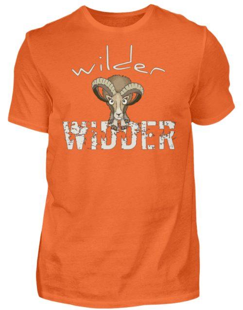 Wilder Widder | Mufflon Cooles Wild-Schaf - Herren Shirt-1692