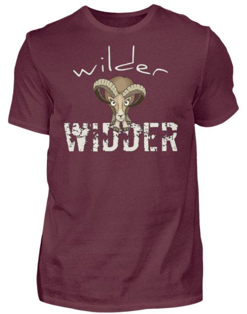Wilder Widder | Mufflon Cooles Wild-Schaf - Herren Shirt-839