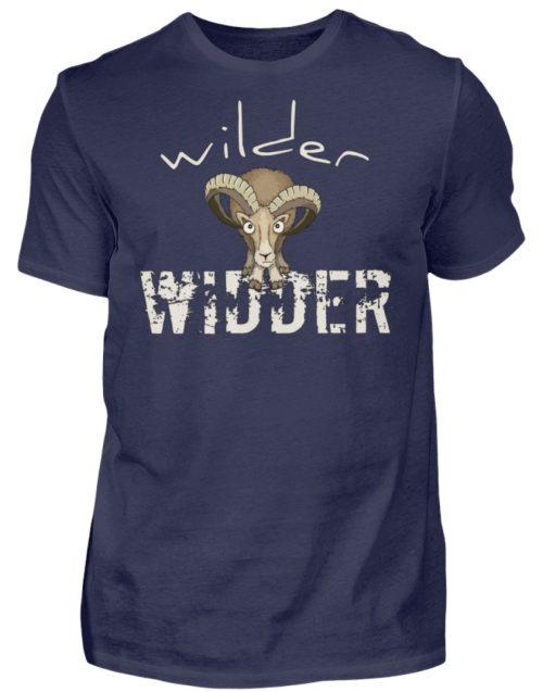 Wilder Widder | Mufflon Cooles Wild-Schaf - Herren Shirt-198