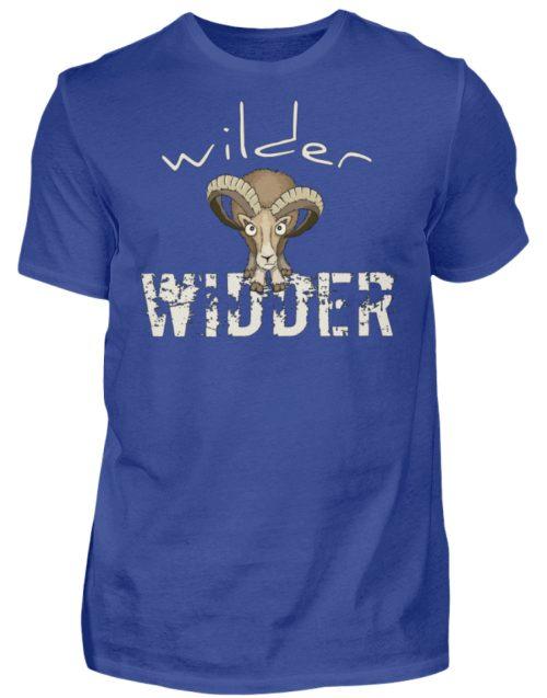 Wilder Widder | Mufflon Cooles Wild-Schaf - Herren Shirt-668