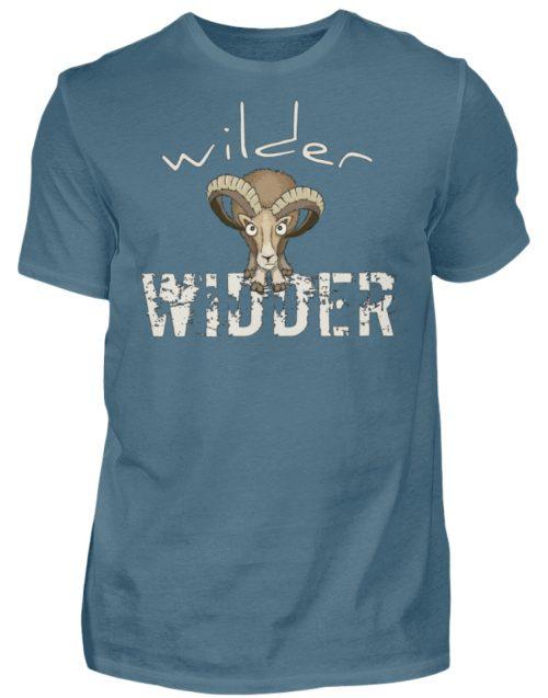Wilder Widder | Mufflon Cooles Wild-Schaf - Herren Shirt-1230