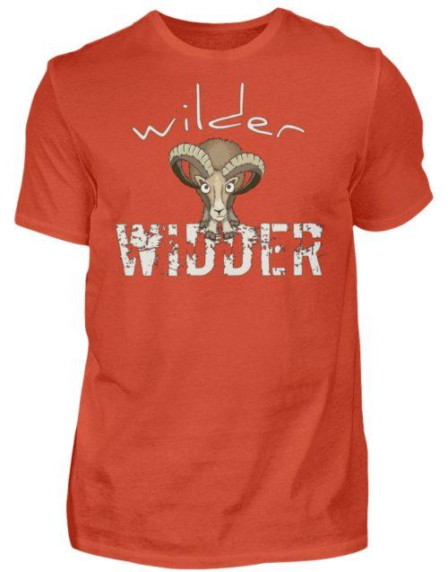 Wilder Widder | Mufflon Cooles Wild-Schaf - Herren Shirt-1236