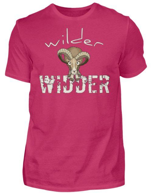 Wilder Widder | Mufflon Cooles Wild-Schaf - Herren Shirt-1216