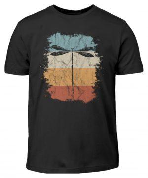Retro Art Libelle | Vitage Libellen-Silhouette - Kinder T-Shirt-16