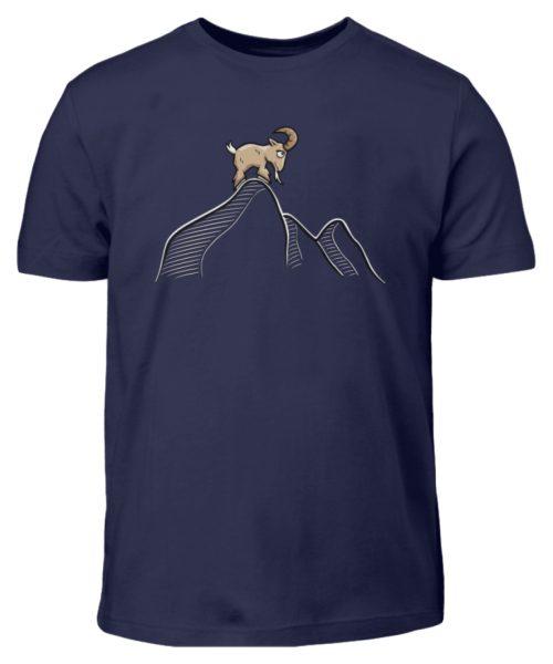 Ziegenbock in den Bergen - Kinder T-Shirt-198
