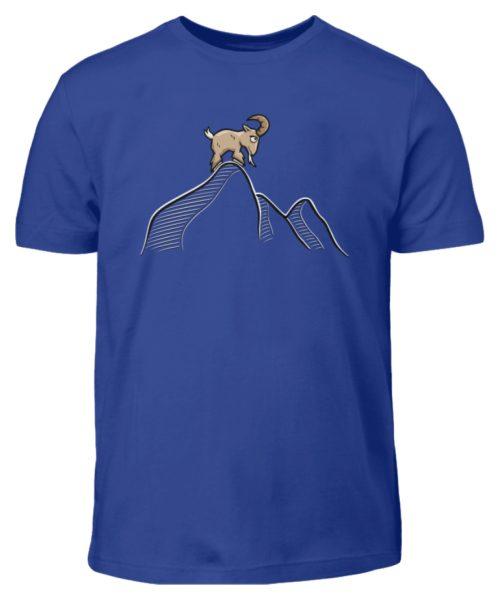 Ziegenbock in den Bergen - Kinder T-Shirt-668
