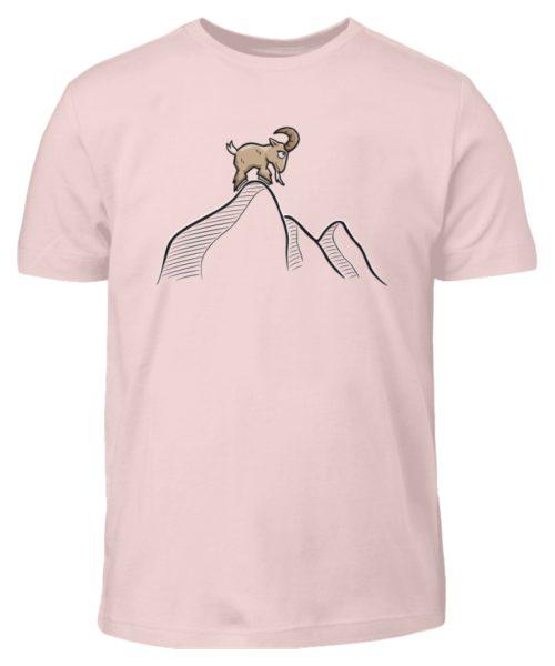 Ziegenbock in den Bergen - Kinder T-Shirt-5823