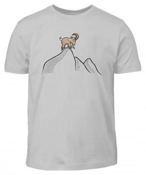 Ziegenbock in den Bergen - Kinder T-Shirt-1157