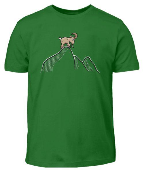 Ziegenbock in den Bergen - Kinder T-Shirt-718