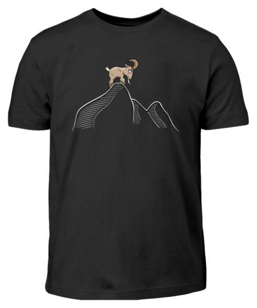 Ziegenbock in den Bergen - Kinder T-Shirt-16