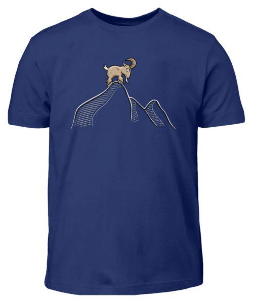 Ziegenbock in den Bergen - Kinder T-Shirt-1115