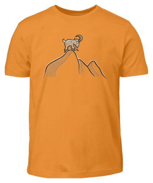 Ziegenbock in den Bergen - Kinder T-Shirt-20
