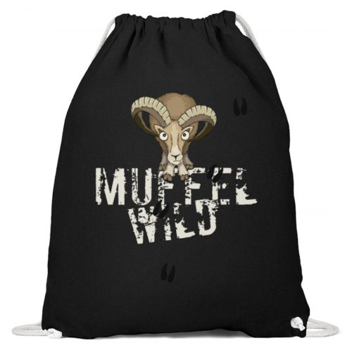 Muffel Wild Mufflon - Baumwoll Gymsac-16