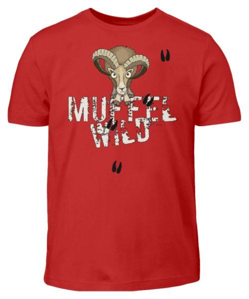 Muffel Wild Mufflon - Kinder T-Shirt-4