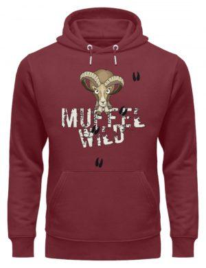 Muffel Wild Mufflon - Unisex Organic Hoodie-6883