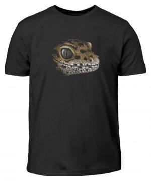 Leopard Gecko Skizze Kritzel-Kunst - Kinder T-Shirt-16