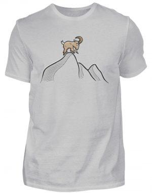Ziegenbock in den Bergen - Herren Shirt-1157