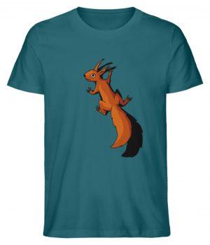 Süßes Eichhörnchen - Herren Premium Organic Shirt-6889