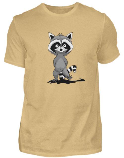 Frecher kleiner Waschbär - Herren Shirt-224