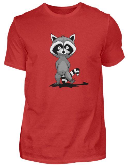 Frecher kleiner Waschbär - Herren Shirt-4