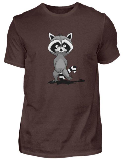 Frecher kleiner Waschbär - Herren Shirt-1074