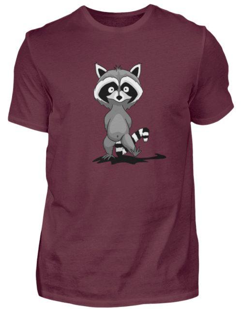 Frecher kleiner Waschbär - Herren Shirt-839