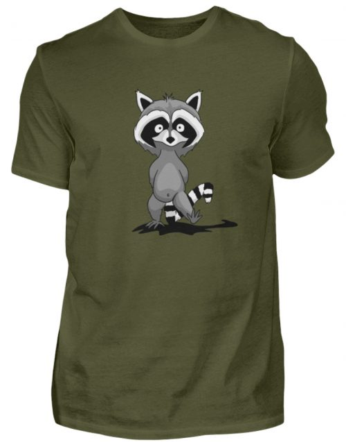 Frecher kleiner Waschbär - Herren Shirt-1109