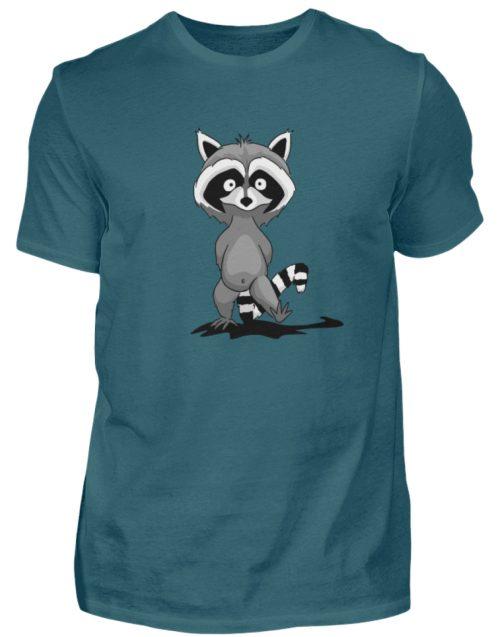 Frecher kleiner Waschbär - Herren Shirt-1096