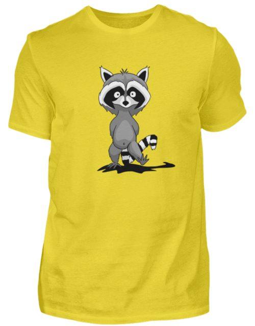 Frecher kleiner Waschbär - Herren Shirt-1102