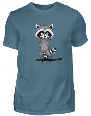 Frecher kleiner Waschbär - Herren Shirt-1230