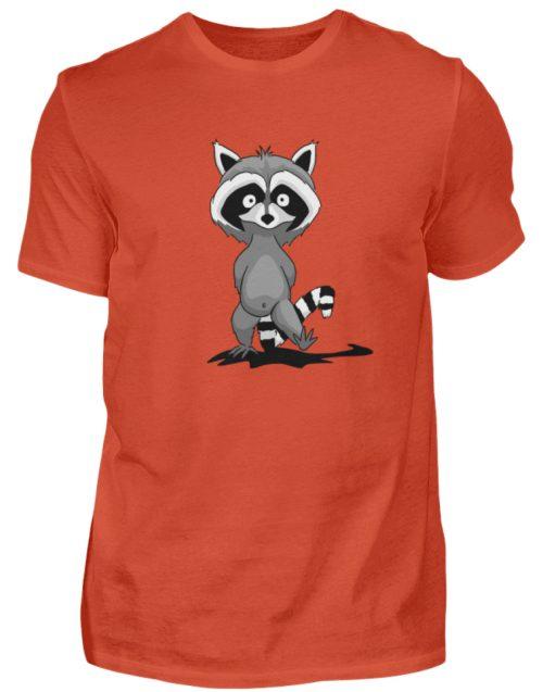 Frecher kleiner Waschbär - Herren Shirt-1236