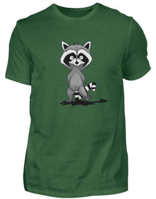 Frecher kleiner Waschbär - Herren Shirt-833