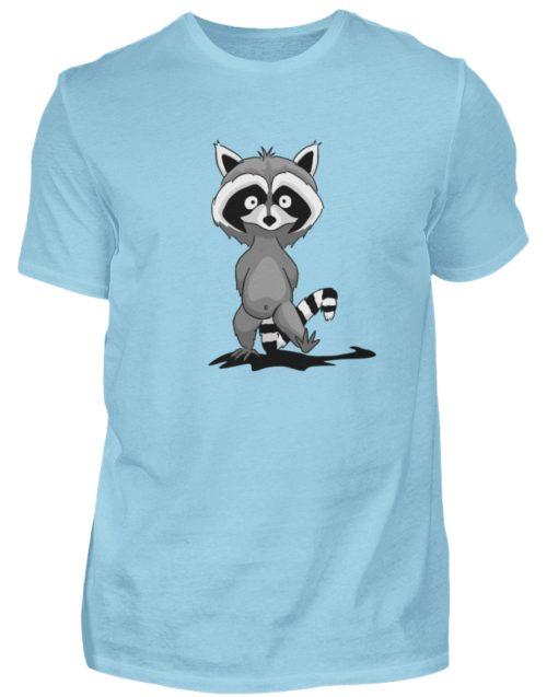 Frecher kleiner Waschbär - Herren Shirt-674