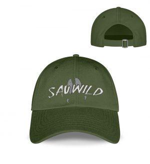 Sauwild Wildschwein Trittsiegel - Kappe-2587