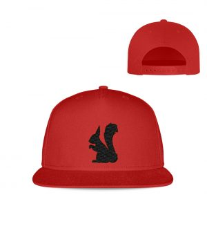 Eichhörnchen Silhouette - Kappe-4