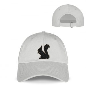 Eichhörnchen Silhouette - Kappe-23