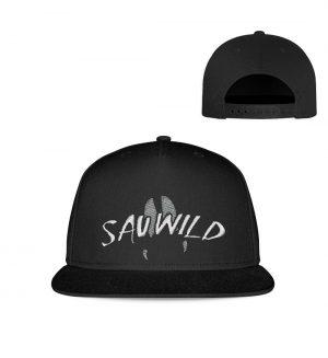 Sauwild Wildschwein Trittsiegel - Kappe-16