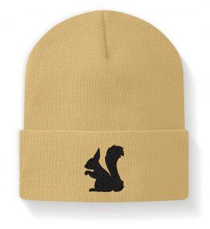 Eichhörnchen Silhouette - Beanie-224