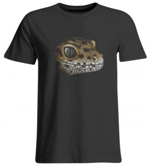 Leopard Gecko Skizze Kritzel-Kunst - Übergrößenshirt-639