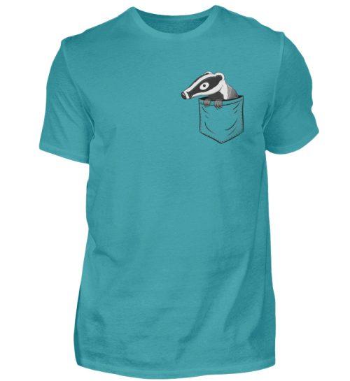 Lustig gemütlicher Dachs In der Tasche - Herren Shirt-1242