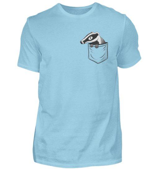 Lustig gemütlicher Dachs In der Tasche - Herren Shirt-674