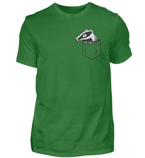 Lustig gemütlicher Dachs In der Tasche - Herren Shirt-718