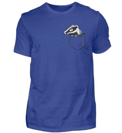 Lustig gemütlicher Dachs In der Tasche - Herren Shirt-668