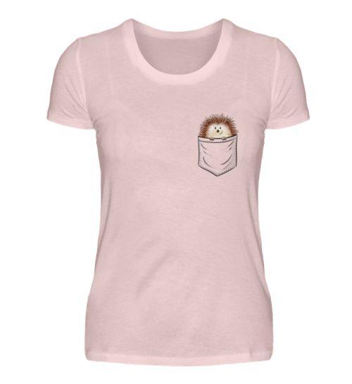 Lustiger Igel In Deiner Brust-Tasche - Damen Premiumshirt-5949