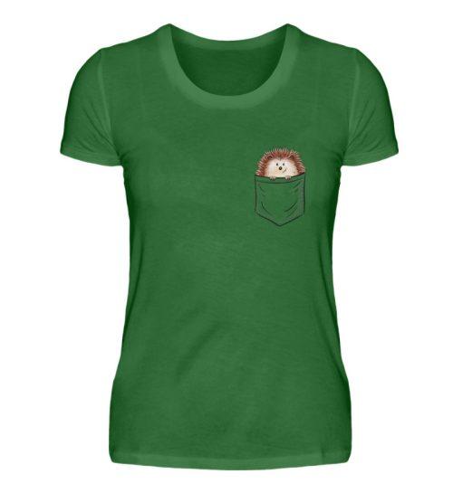 Lustiger Igel In Deiner Brust-Tasche - Damen Premiumshirt-30