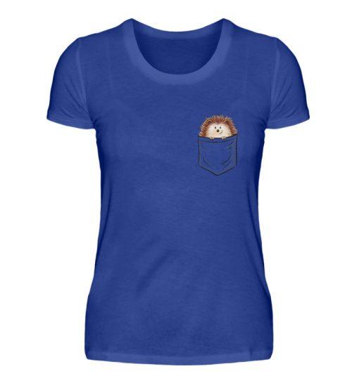 Lustiger Igel In Deiner Brust-Tasche - Damen Premiumshirt-27