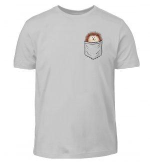 Lustiger Igel In Deiner Brust-Tasche - Kinder T-Shirt-1157