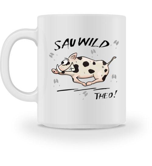 Sauwild Wildsau Theo - Tasse-3